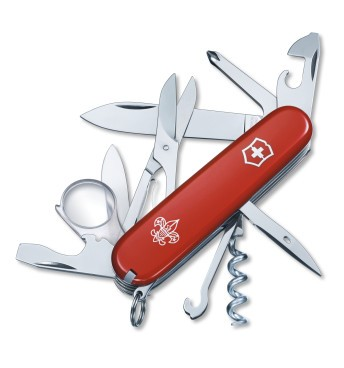 Victorinox Swiss Army Boy Scout Red Explorer