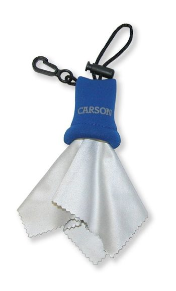 Carson Blue Stuff It Microfiber Cloth