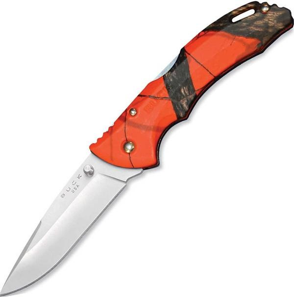 Buck Mossy Oak Orange Blaze Medium Bantam Knife