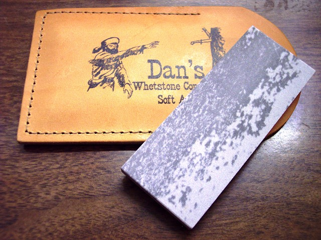 Dan's Whetstone Soft Arkansas Pocket Stone