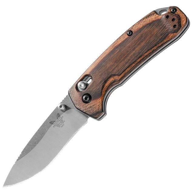 Benchmade Hunt North Fork Wood Folder Red Hill Cutlery