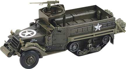 Classic Armour Tank Model Kit M3A1 Half Track