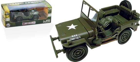 Classic Armour Willys Jeep