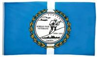 Korean War Veteran Blue Flag