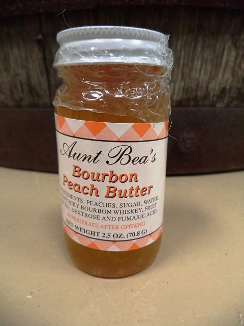 Kentucky Aunt Bea's Bourbon Peach Butter 2.5oz