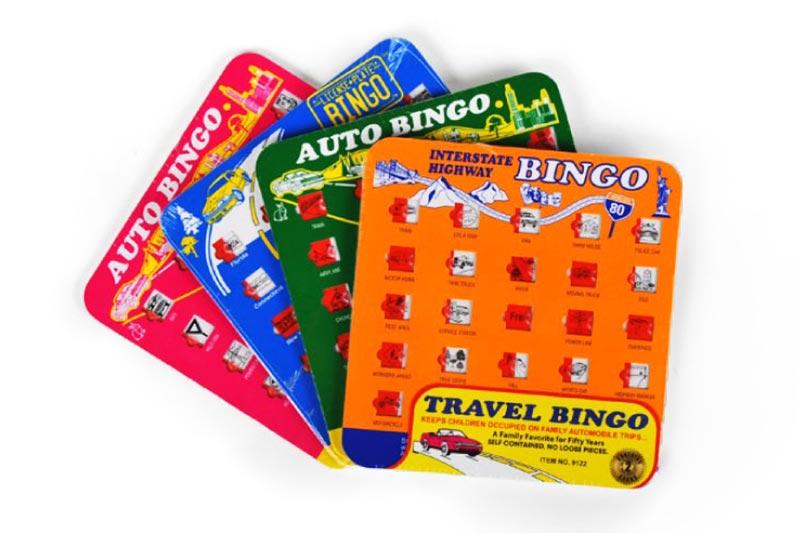 Auto & Interstate Bingo Car Games