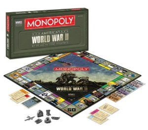 World War II Monopoly Board Game