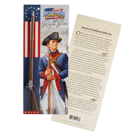 Revolutionary War Rifle Ink Pen