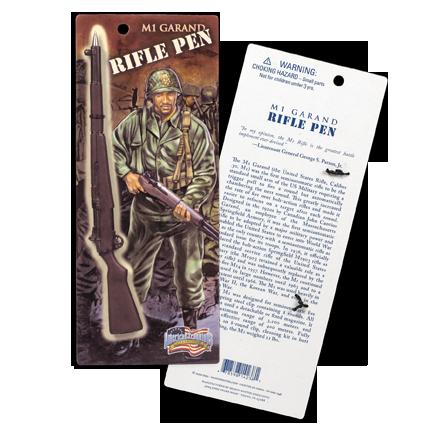 M1 Garand Rifle Ink Pen