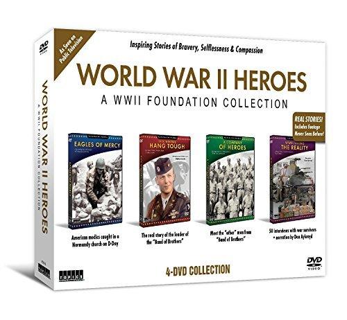 World War II Heroes 4 DVD Set Collection