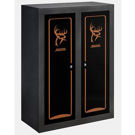 Stack On Buck Commander Double Door Gun Amp Bow Cabinet