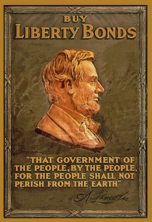 Lincoln Buy Liberty Bonds 11 x 17 Poster in Sleeve