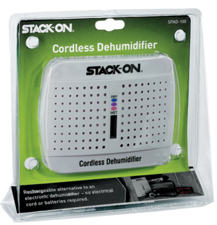 Read more · Stack-On Rechargeable Cordless Safe Dehumidifier