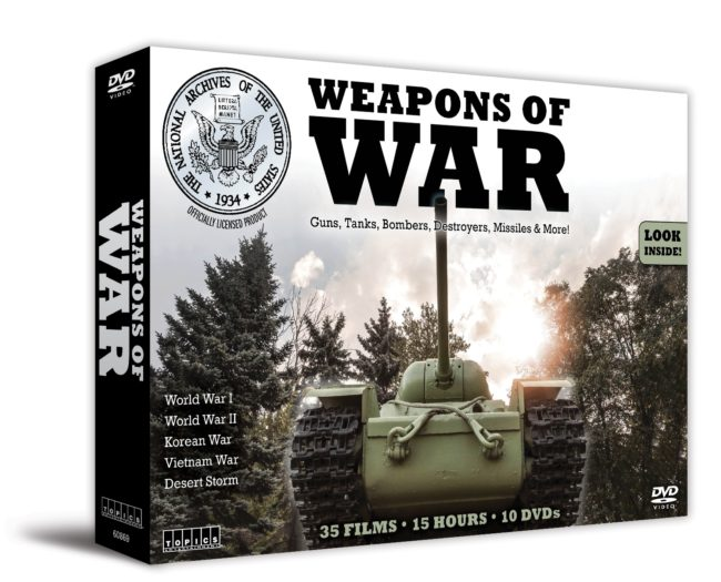 Weapons Of War 10 Dvd Box Set Collection Red Hill Cutlery