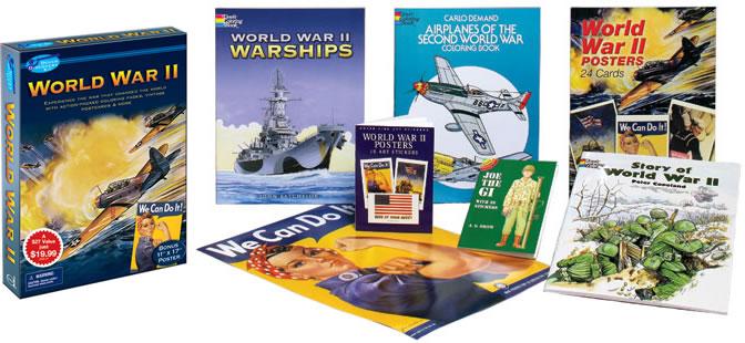 World War II Kids Discovery Kit Set (a $27 value)