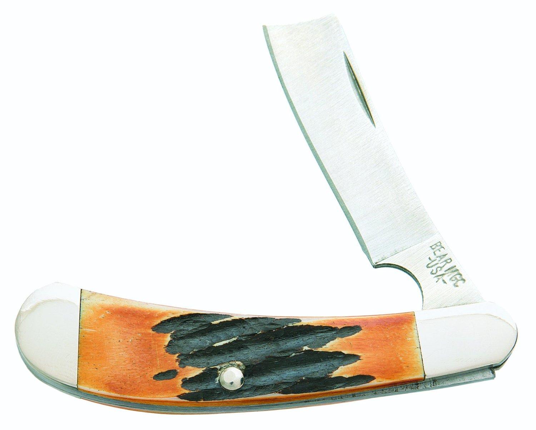 Bear Stag Bone Mini Razor Knife