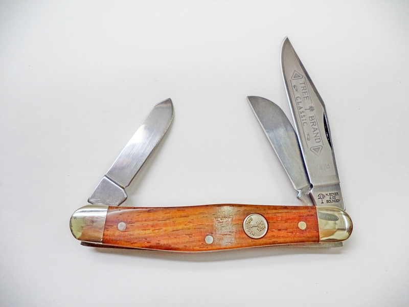 Boker Cocobolo Wood Stockman Knife Red Hill Cutlery