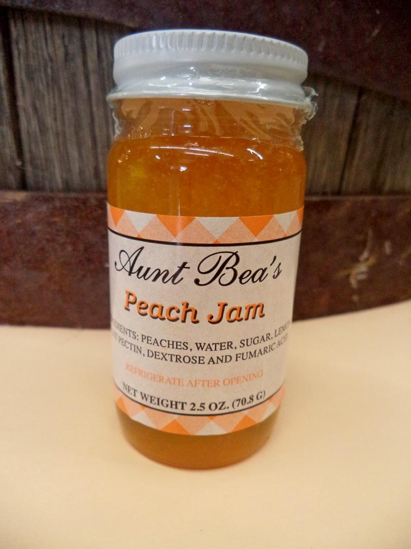 Kentucky Aunt Bea's Peach Jam 2.5oz