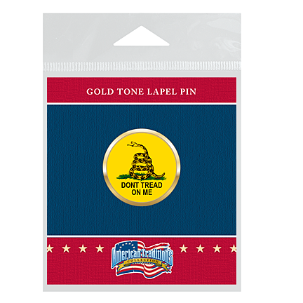 "Gadsden ""Don't Tread On Me"" Lapel Pin"