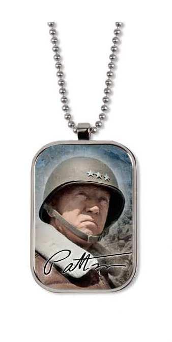 General George Patton Dog Tag
