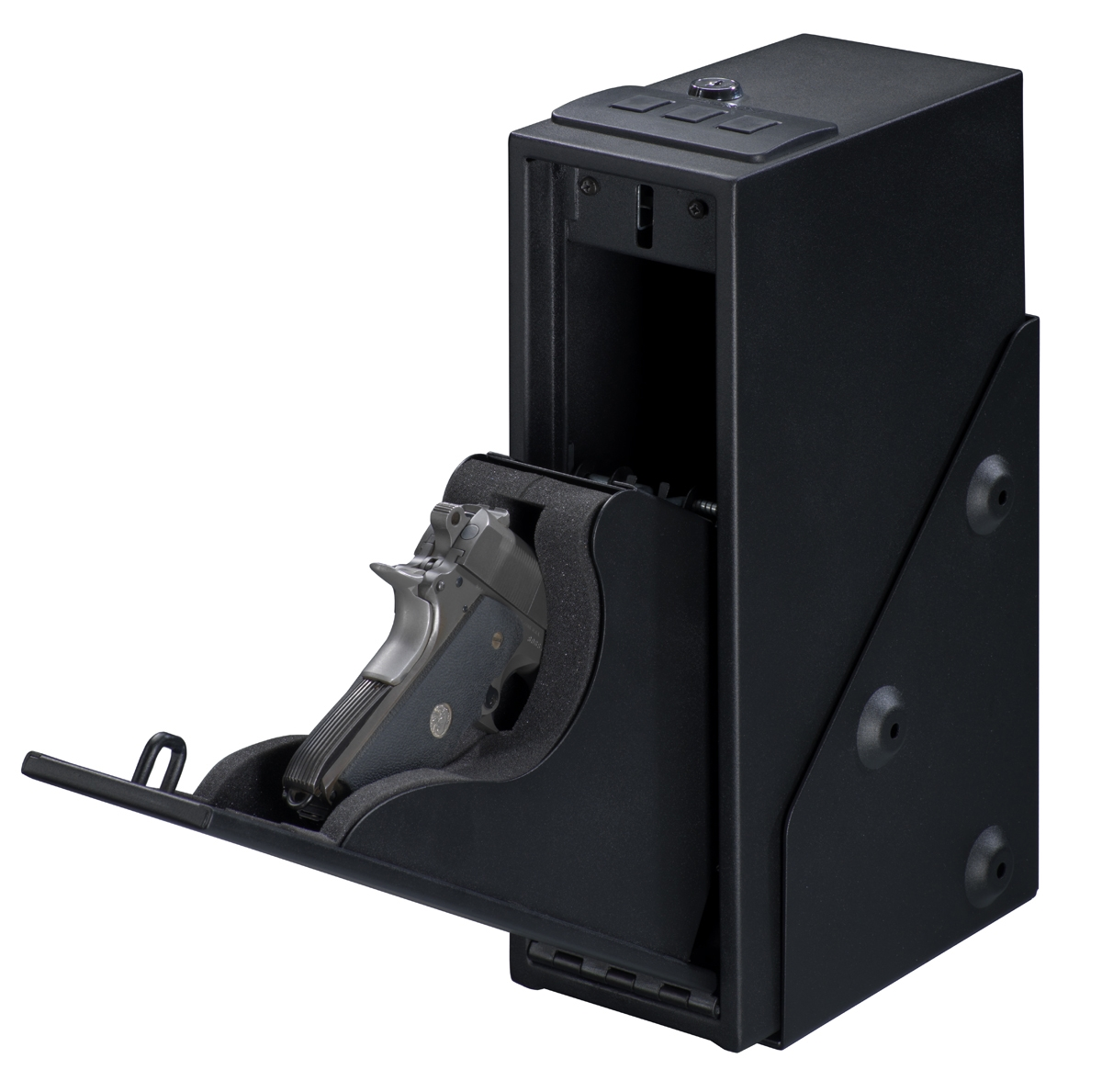 Stack On Quick Access Pistol Safe With Electronic Lock