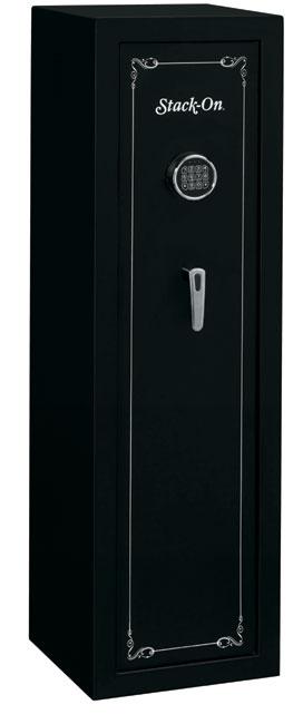 Black Gun Safe In Living Room Decor: Stack-On 10 Gun Black Safe With Electronic Lock