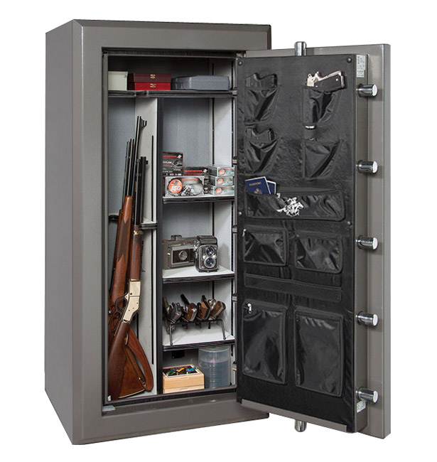 Winchester 48cf Treasury Saddle Brown Electronic Safe