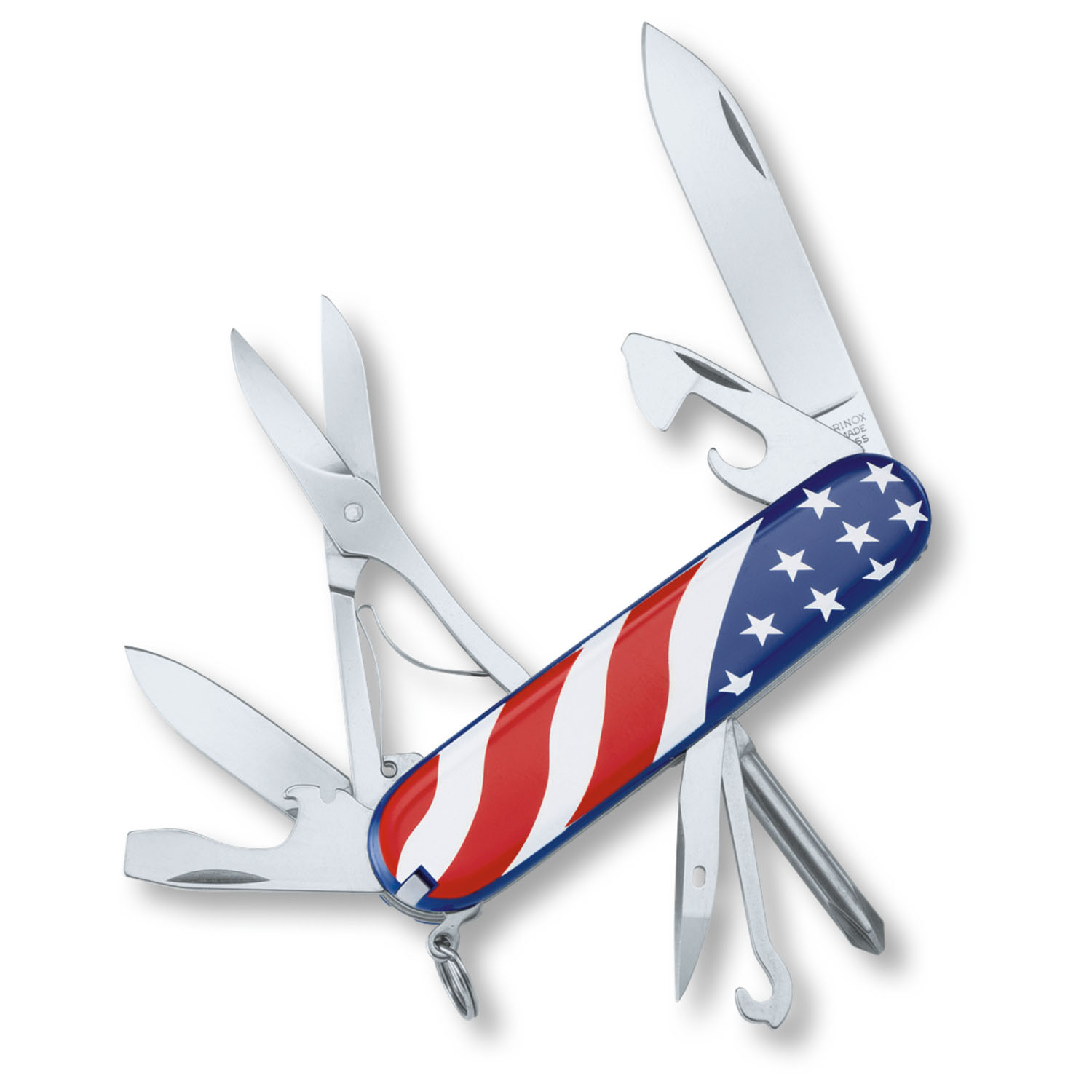 Victorinox Swiss Army American Flag Super Tinker Knife