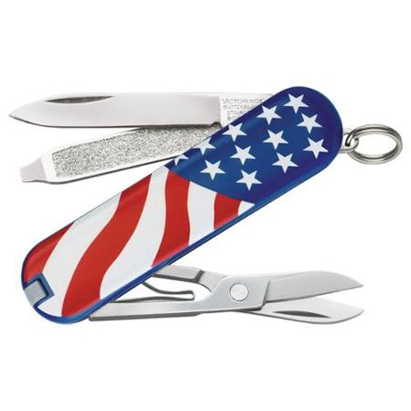 Victorinox Swiss Army American Flag Classic SD Knife