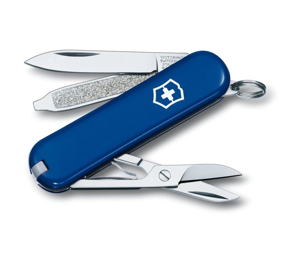 Victorinox Swiss Army Classic SD Blue Knife