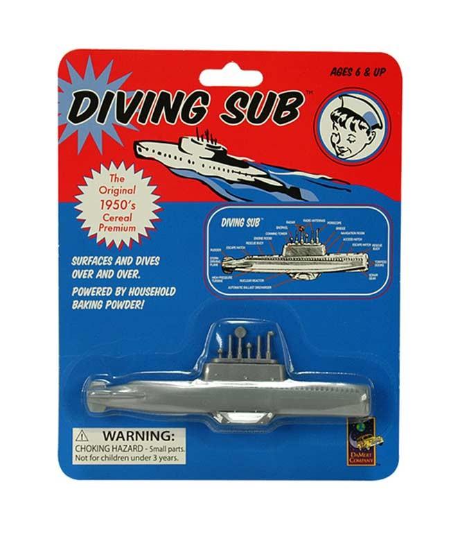 Retro Classic Diving Sub Toy