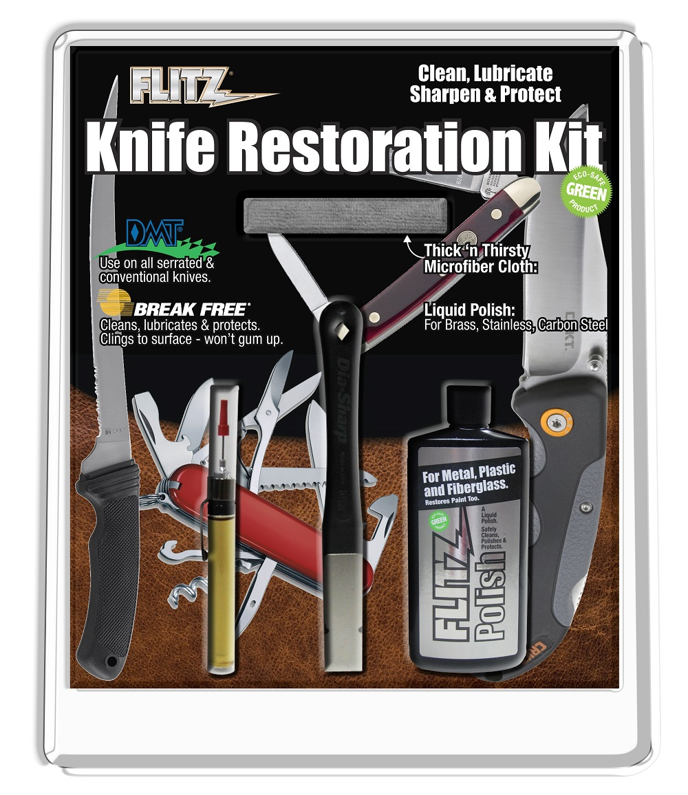 Flitz Knife Restoration Kit ($35 Retail Value)