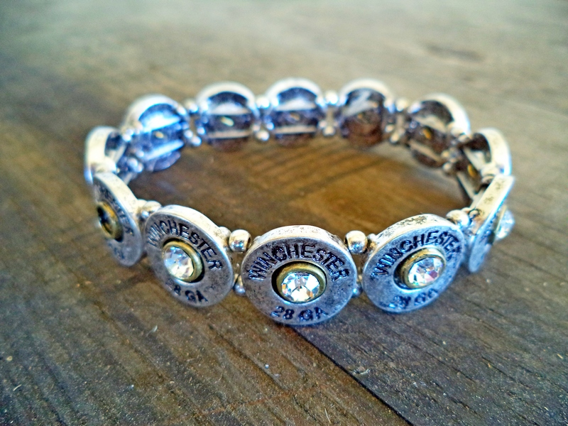 28 Gauge Ammo Stretch Bracelet