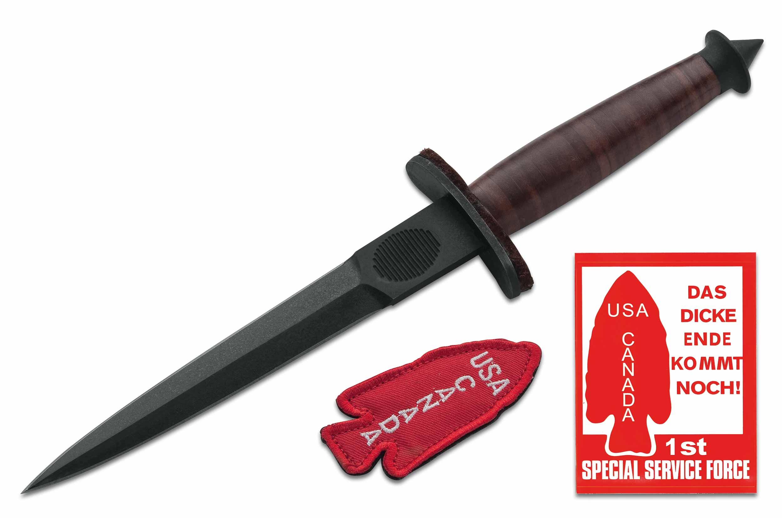devils knives boker plus v 42 devil s brigade wwii replica trench knife