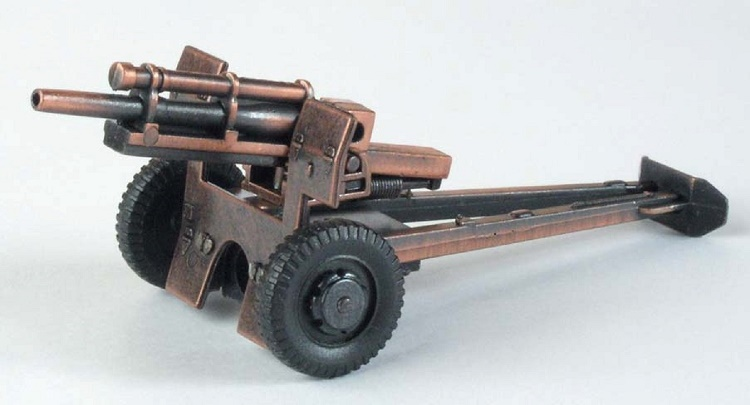 Die-Cast Howitzer Cannon Pencil Sharpener