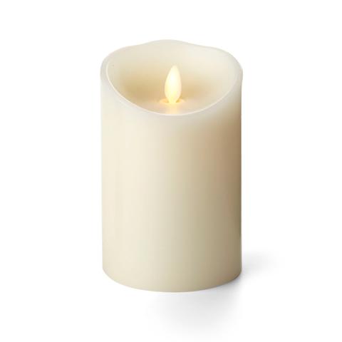Luminara Vanilla Ivory 5in Flameless Candle