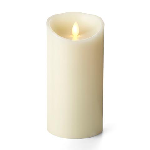 Luminara Vanilla Ivory 7in Flameless Candle