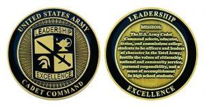 ROTC Leadership Cadet Command Coin
