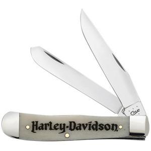 Case Harley-Davidson® Natural Bone Trapper Knife