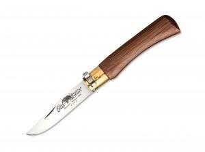 Old Bear Italy Small Walnut Twist Lock Knife