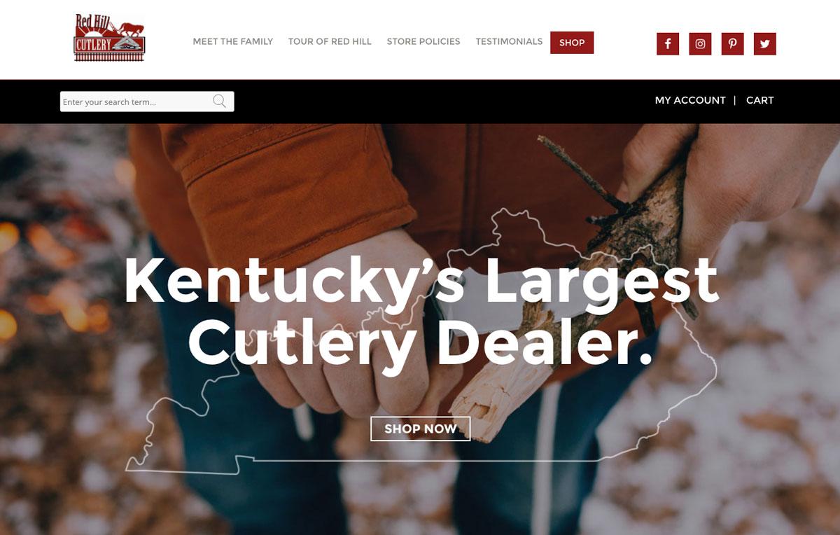 Kentucky's Largest Cutlery Dealer & Showroom | Red Hill Cutlery