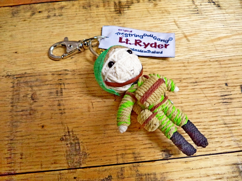 LT. Ryder Soldier String Doll Key Chain