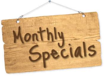 RHC Monthly Specials