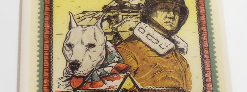 General Patton & Willie Stamp – Museum Coaster