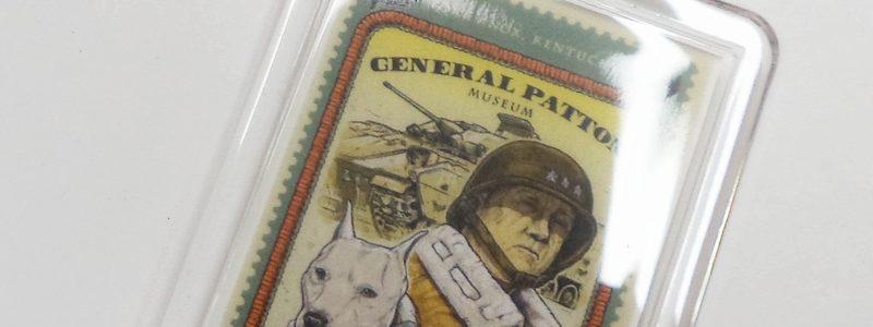 General Patton & Willie Stamp – Museum Key Chain