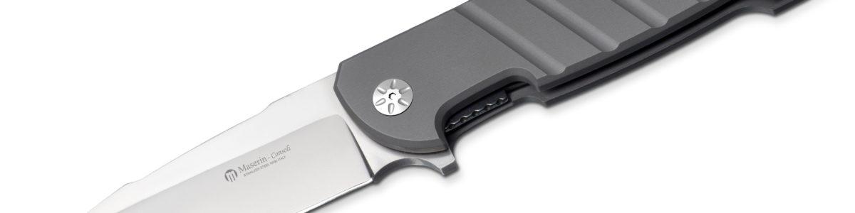 Maserin 403 Titanium Bulldog Flipper Knife