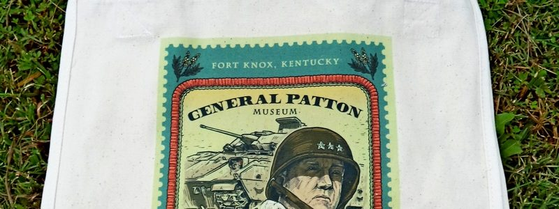 General Patton & Willie Stamp – Museum Canvas Tote Bag