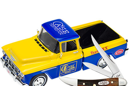 Case Red Stag Toothpick Knife & Ertl Truck Set