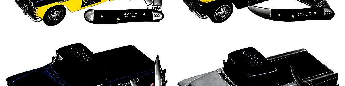 Case 2017 Ertl Truck Stag Knife 4 Piece Set