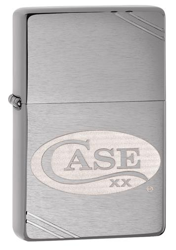 Case Logo Etched Zippo Lighter
